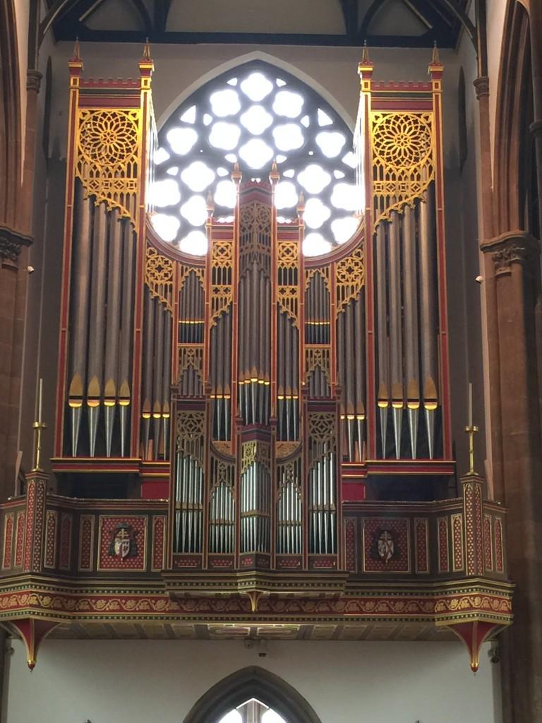 St Chad Organ Case
